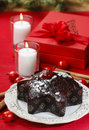 Gingerbread cake in star shape Stock Photography