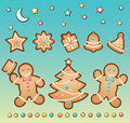 Gingerbread and Christmas Royalty Free Stock Photo