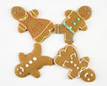 Gingerbread cookies. Stock Images
