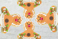 Gingerbread Family Background ...