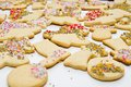 Gingerbread figurines cookies for christmas holiday Royalty Free Stock Image