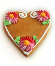 Gingerbread hearth Stock Photo
