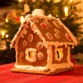 Gingerbread house Stock Photos