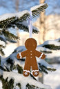 Gingerbread man Royalty Free Stock Photo