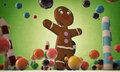 Gingerbread man Royalty Free Stock Images
