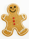 Gingerbread man Stock Image