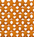 Gingerbread Man Background Royalty Free Stock Photos