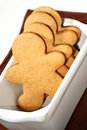 Gingerbread men cookies Royalty Free Stock Photo