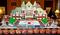 Gingerbread Village Gare du Palais Que Royalty Free Stock Image