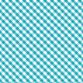 Gingham Cross Weave, Aqua, Seamless Background Royalty Free Stock Image