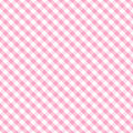Gingham Cross Weave, Baby Pink Seamless Stock Images