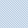Gingham Cross Weave, Pastel Blue, Seamless Royalty Free Stock Image
