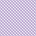 Gingham Cross Weave, Pastel Lavender, Seamless Stock Photos