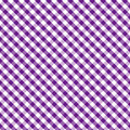 Gingham Cross Weave, Purple, Seamless Background Royalty Free Stock Photo