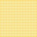 Gingham golden seamless yellow 免版税库存图片