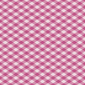 Gingham-Plaid im Rosa Stockfotos
