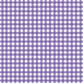 Gingham purpurowy Fotografia Stock