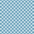 Gingham seamless blue pattern. Tablecloths texture, plaid background. Typography graphics for shirt, clothes.