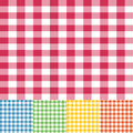Gingham seamless pattern Royalty Free Stock Photo