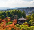 Ginkaku ji temple in kyoto japan during the fall season Stock Photography