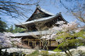 The Ginkaku Temple in Kyoto, Japan Royalty Free Stock Photo