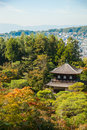 Ginkakuji silver pavilion is a zen temple along kyoto s easter eastern mountains higashiyama in shogun ashikaga yoshimasa built Royalty Free Stock Photos