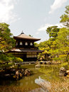 Ginkakuji temple kyoto japan the main pavillion of Stock Image