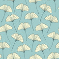 Ginkgo pattern Royalty Free Stock Photography