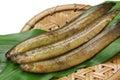 Ginpo tidepool gunnel ingredients of tempura Stock Images