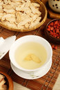 Ginseng tea chinese traditional and herbs Royalty Free Stock Image
