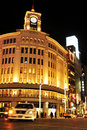 Ginza department store Royalty Free Stock Photos