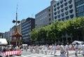 Gion Matsuri festival in summer, Kyoto Japan Royalty Free Stock Photo