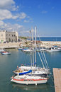 Giovinazzo touristic port. Apulia. Royalty Free Stock Image