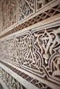 Gipspleister en metselwerk, Marokko Royalty-vrije Stock Afbeelding