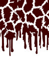 Giraffe Abstract Background
