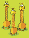 Giraffe clipart Stock Photography