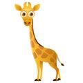 Giraffe cute cartoon character