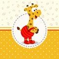 Giraffe in pants