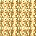 Giraffe Seamless Pattern.