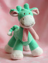 Giraffe soft toy 库存图片