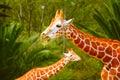 Giraffes III Royalty Free Stock Photo