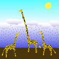 Giraffes this is image of Stock Photos