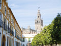 Giralda in Seville Royalty Free Stock Photography