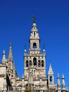 Giralda Tower, Seville, Spain. Royalty Free Stock Photo