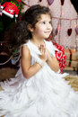 image photo : Girl in angel costume