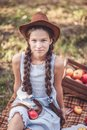Girl With Apple In The Apple O...
