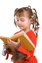 The girl with books Royalty Free Stock Photography