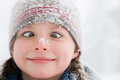 Girl crossing her eyes Royalty Free Stock Photo