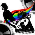 Chica y música