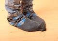 Girl Feet In Socks